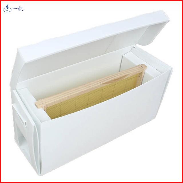 厂家直销定制中空板蜜蜂箱塑料瓦楞板蜜蜂养殖工具便携折叠养殖箱